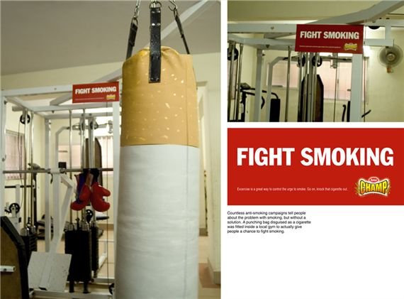 Anti Smoking Advertisement