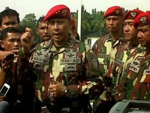 anjen Kopassus Mayjen TNI Agus Sutomo