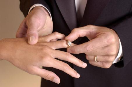 5 Questions To Ask Your Future Spouse - man proposing to woman - wedding rings