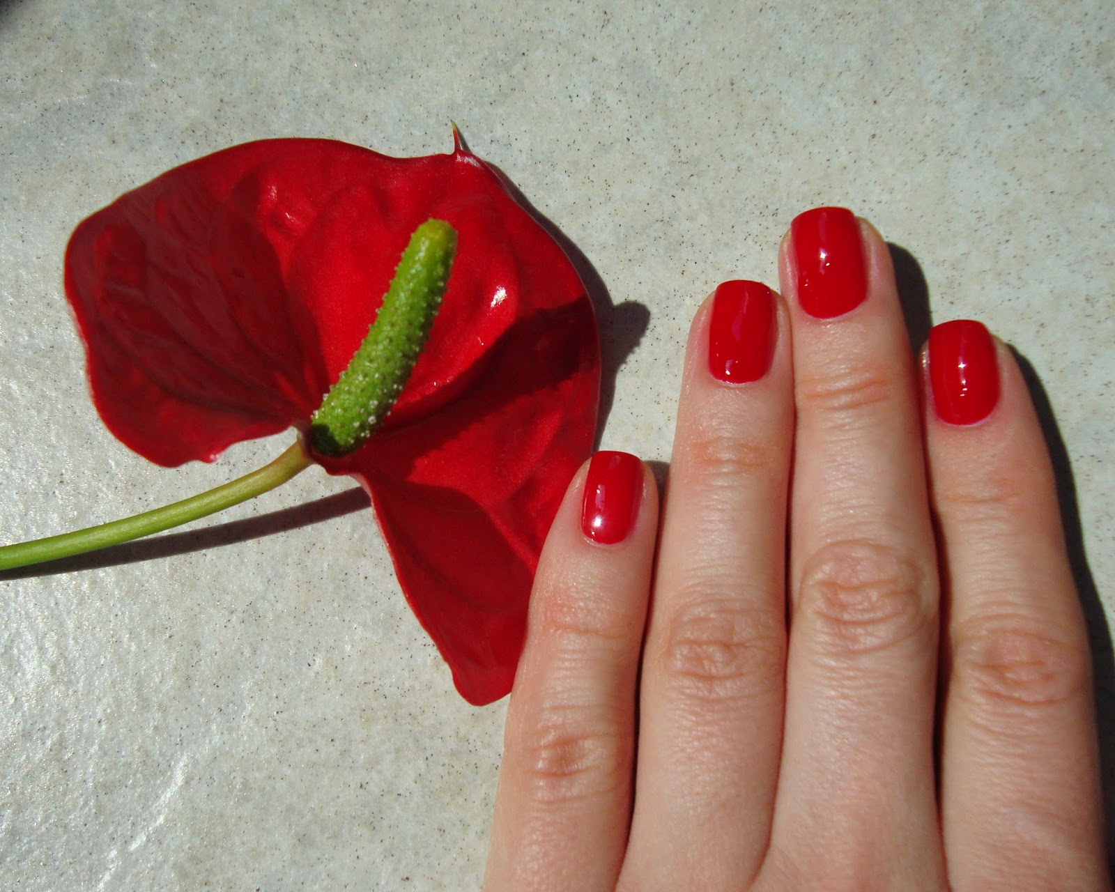 OPI Nail Lacquer A70 Red Hot Rio The OPI Brazil collection for spring/summer 2014