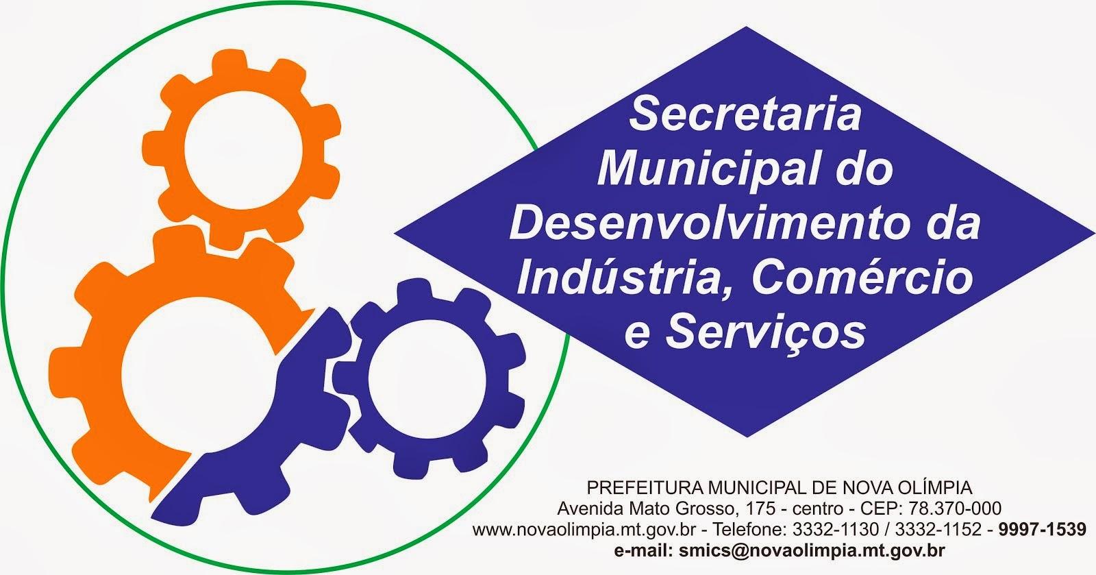 Secretaria Municipal de Indústria e Comércio - Tel. 3332-1130 ou 9997-1539
