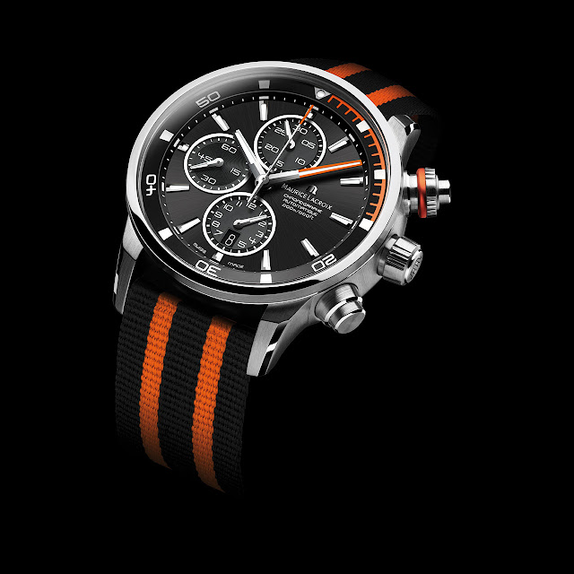 Maurice Lacroix Pontos S Watch orange