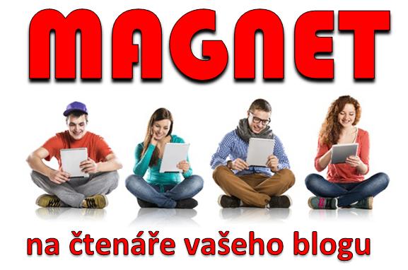 5 top magnetů na čtenáře vašeho blogu