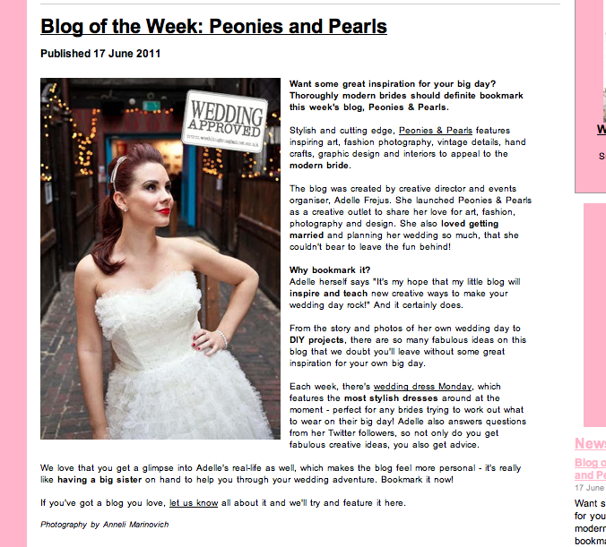 PRESS Peonies Pearls The Ultimate UK Wedding Lifestyle Blog
