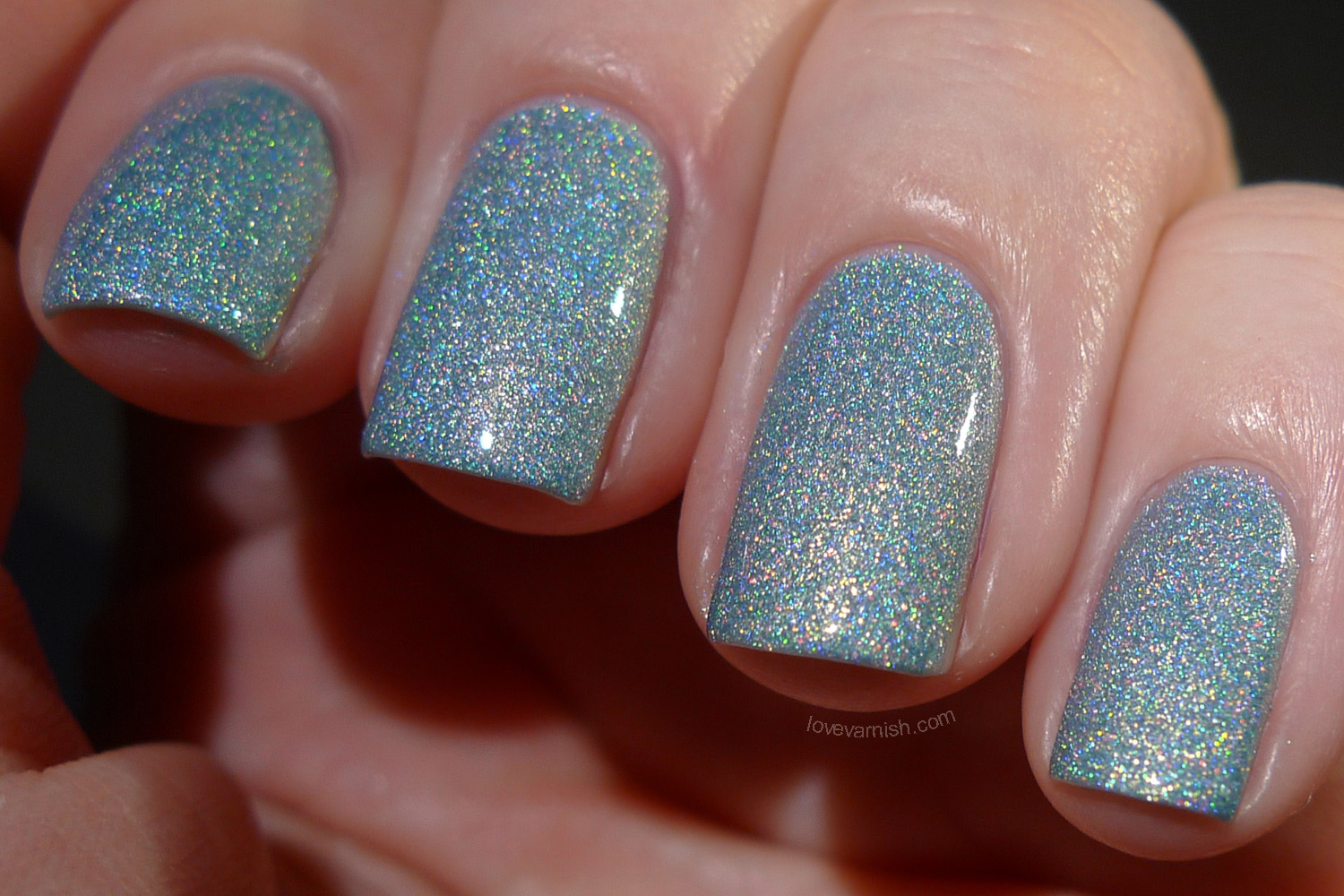 Liquid Sky Lacquer Teal It Like It Is inbetween