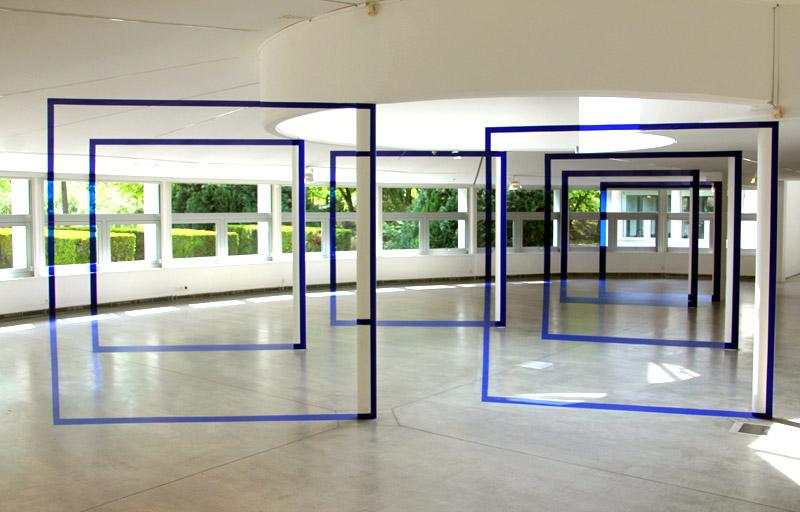 felice varini la villette expo anamorphose art urbain