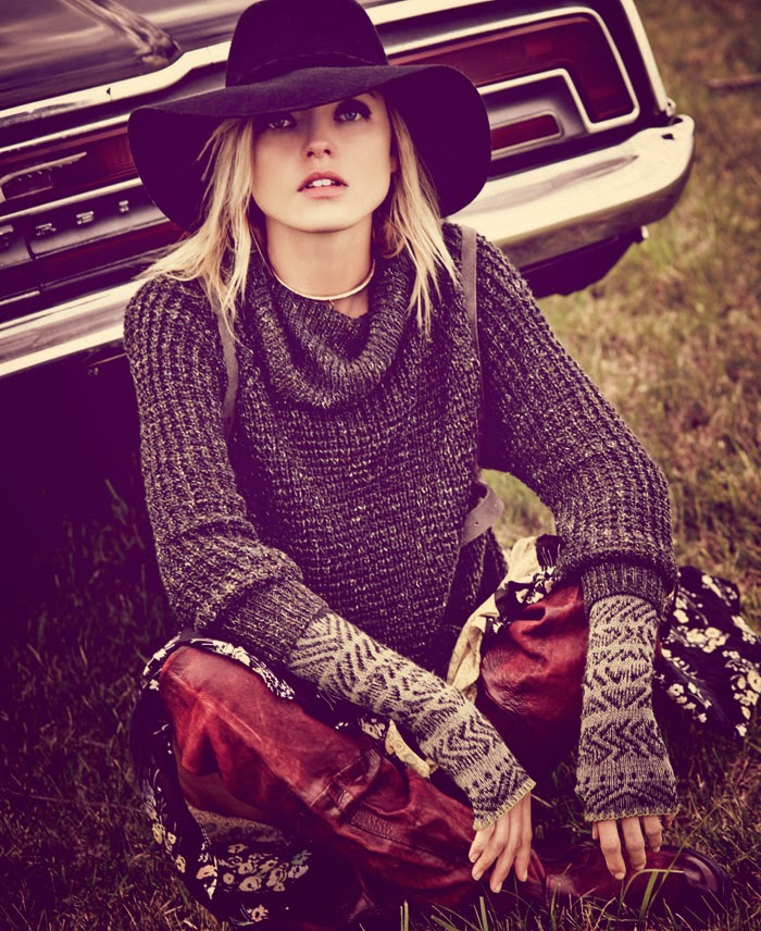 Free Peoples Magalog: 'The August Issue'