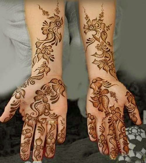 Mehndi Designs Dailymotion : Eid mehndi designs special hands