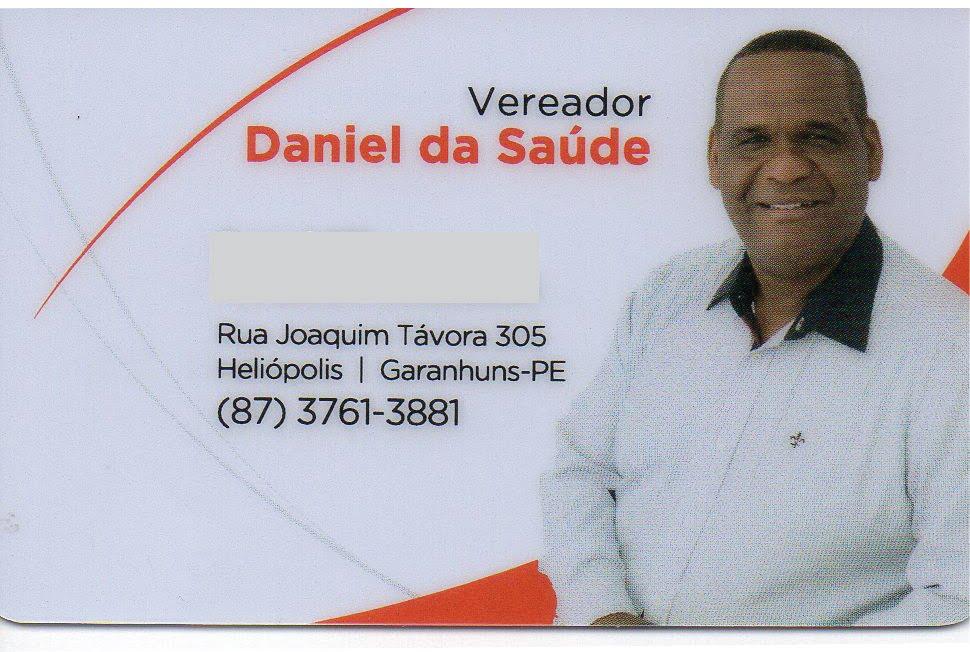 Vereador Daniel da Saúde