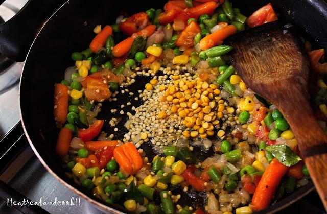 dalia upma recipe with step by step pictures broken wheat upma recipe