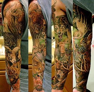 Melhores fotos tatuagens de animais