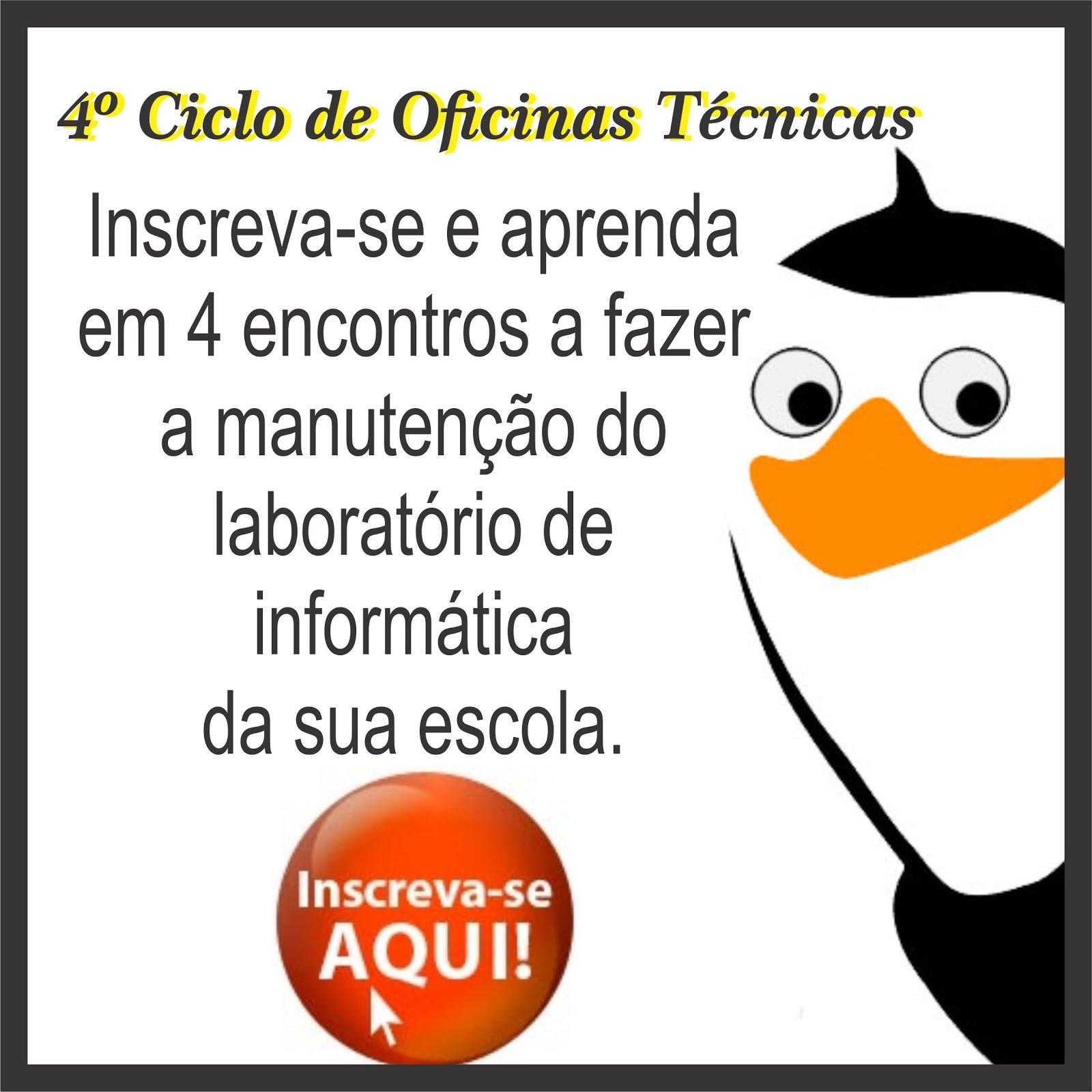 4º CICLO DE OFICINAS TÉCNICAS