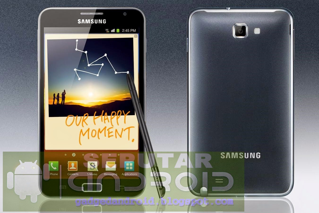 Cara Flash/Instal Ulang Samsung Galaxy Note N7000
