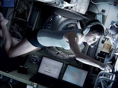 Still of Sandra Bullock in Gravity