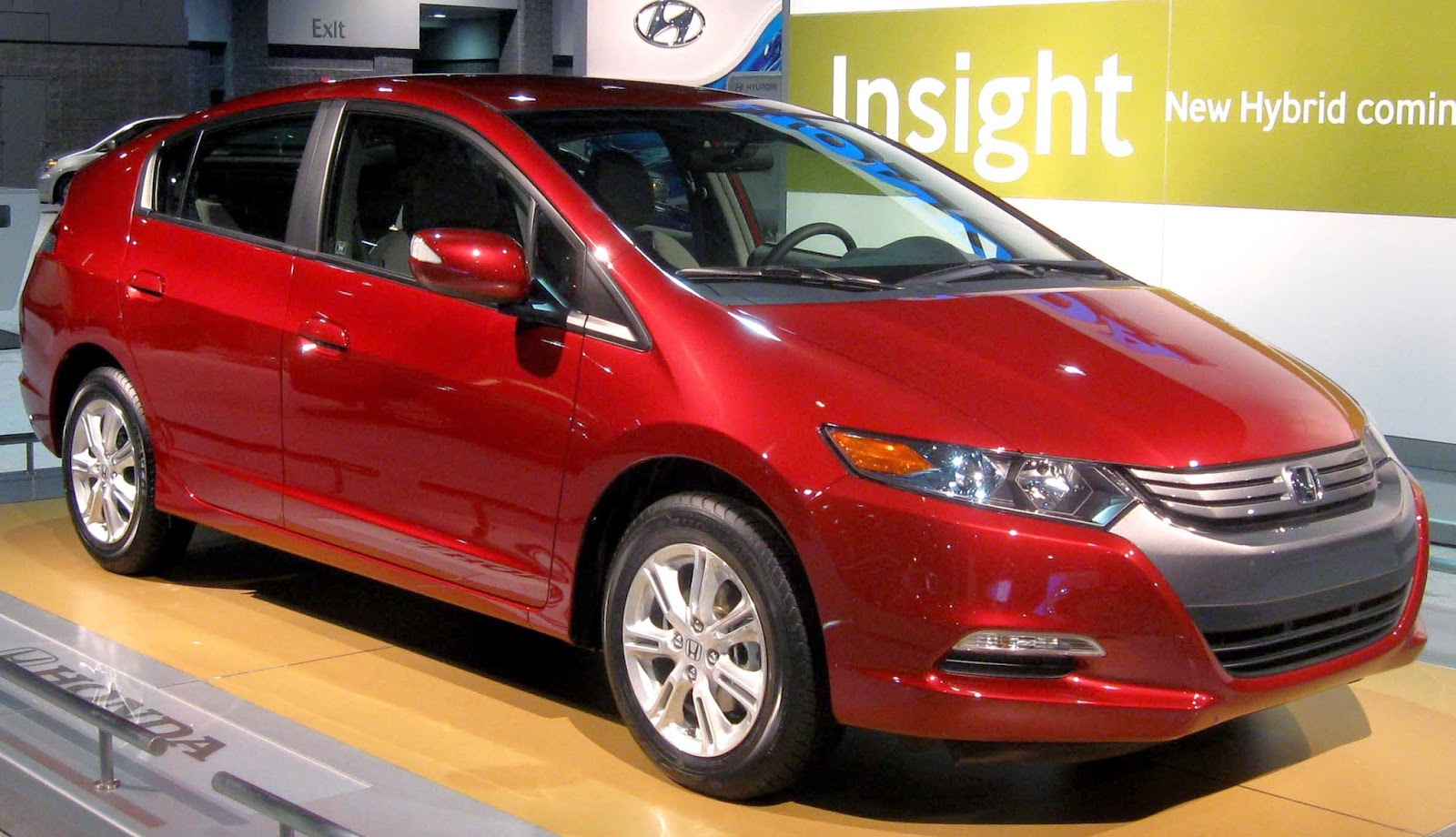 2010 Honda Insight hybrid electric vehicle