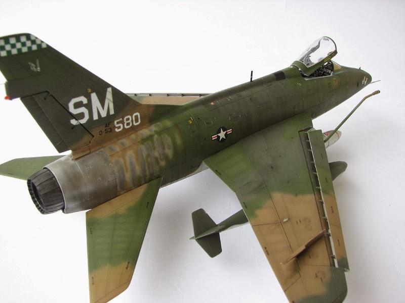"""F-100 Supesabre"" 1/48"