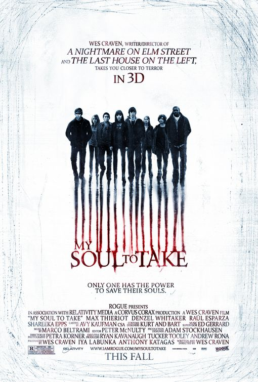 My Soul To Take poster