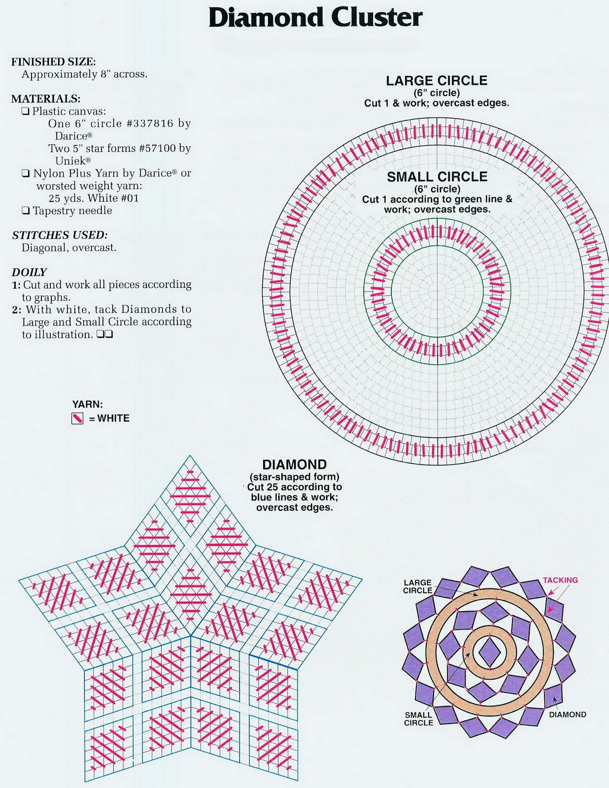 Pineapple Doily Manual Guide