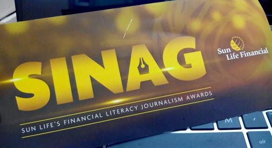 SINAG 2015: SUN LIFE'S Financial Literacy Journalism Awards call for entries