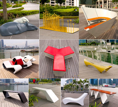 If only singaporeans stopped to think outdoor benches for College lasalle design interieur