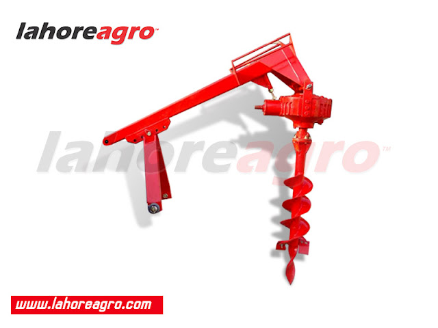 Post Hole Digger, Implements, Farm Machinery