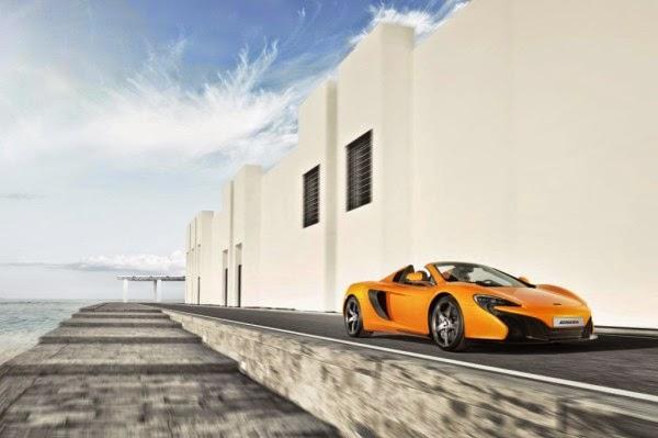 McLaren 650S Spider mercedes benz f1