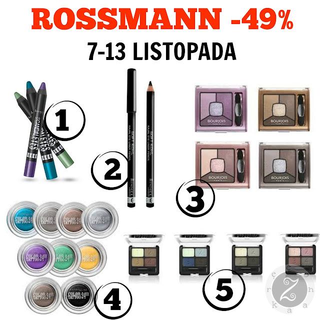 Co warto kupić na promocji Rossmanna -49%?