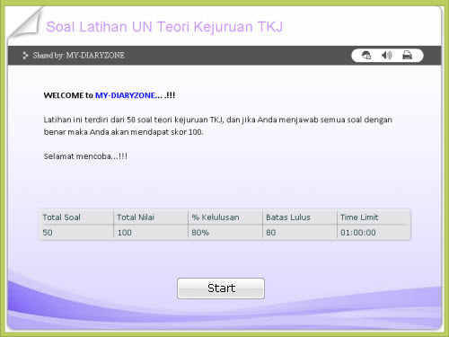 ujian nasional 2012 2013, latihan ujian nasional online, soal dan