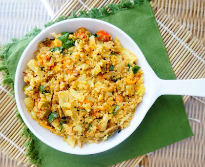 Quinoa upma, quinoa salad, healthy, breakfast