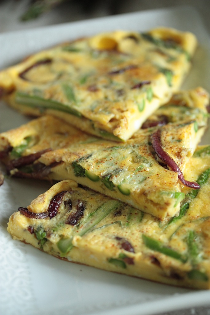 Silva: Asparagus and Balsamic Glazed Onion Frittata