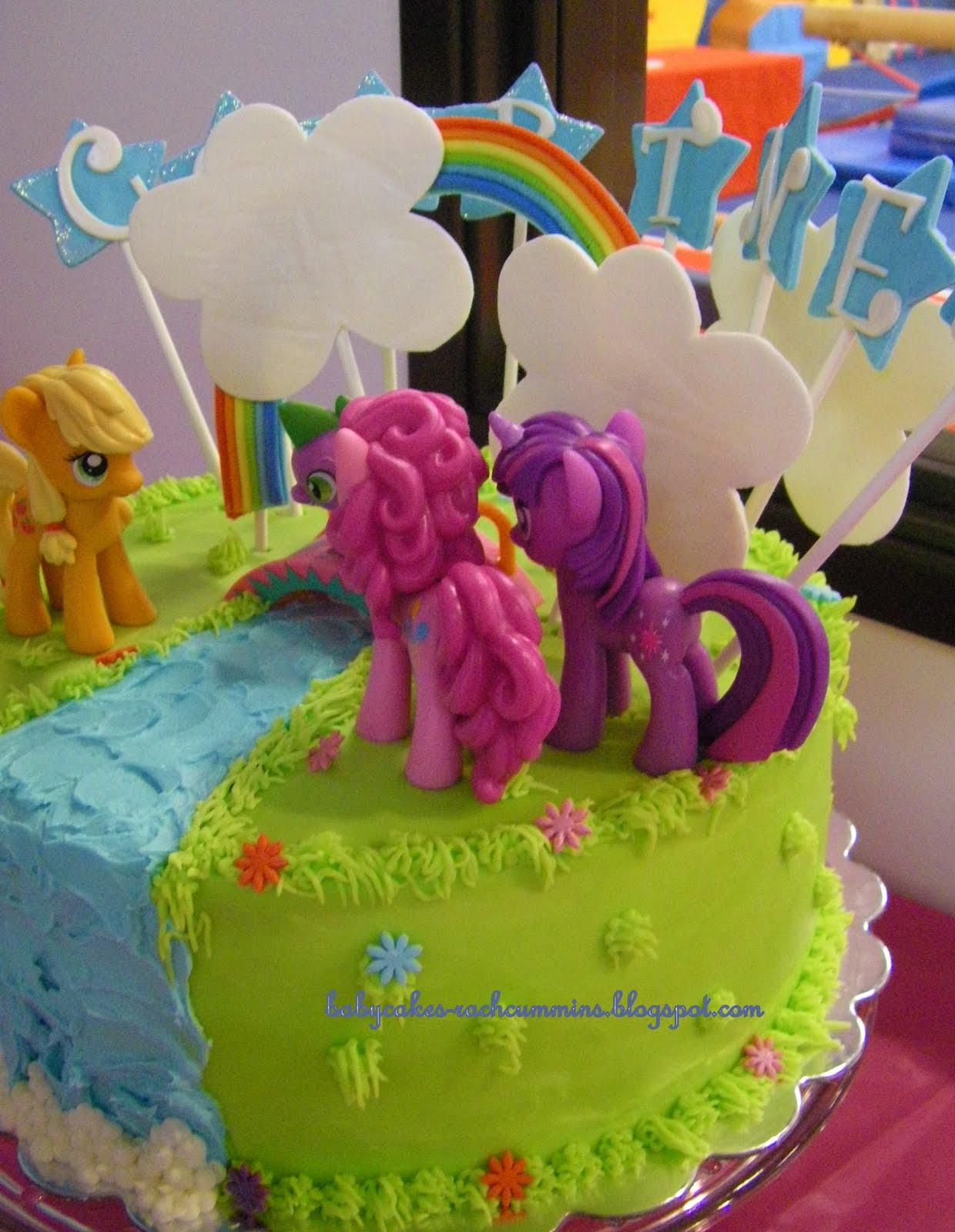 BabyCakes Pony Birthday Cake for Courtney