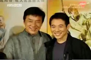 jet li and jackie chan interview