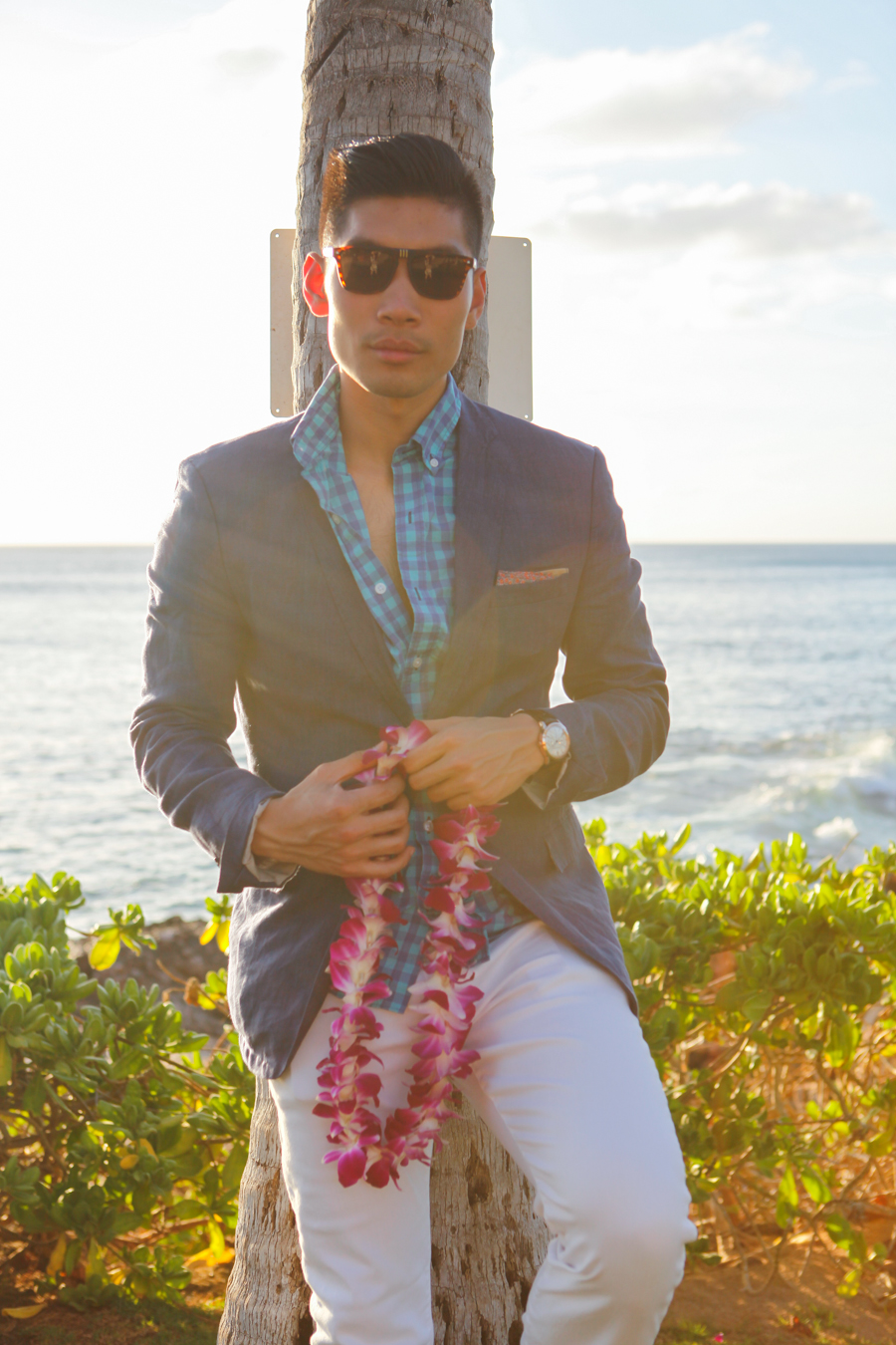 Levitate Style - Luau Oahu, Hawaii | Luau feat Hawaii Summer Style Dinner Outfit, Levitate Travel