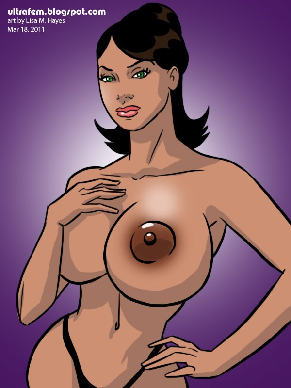 XXX-rated superheroine porn comics!