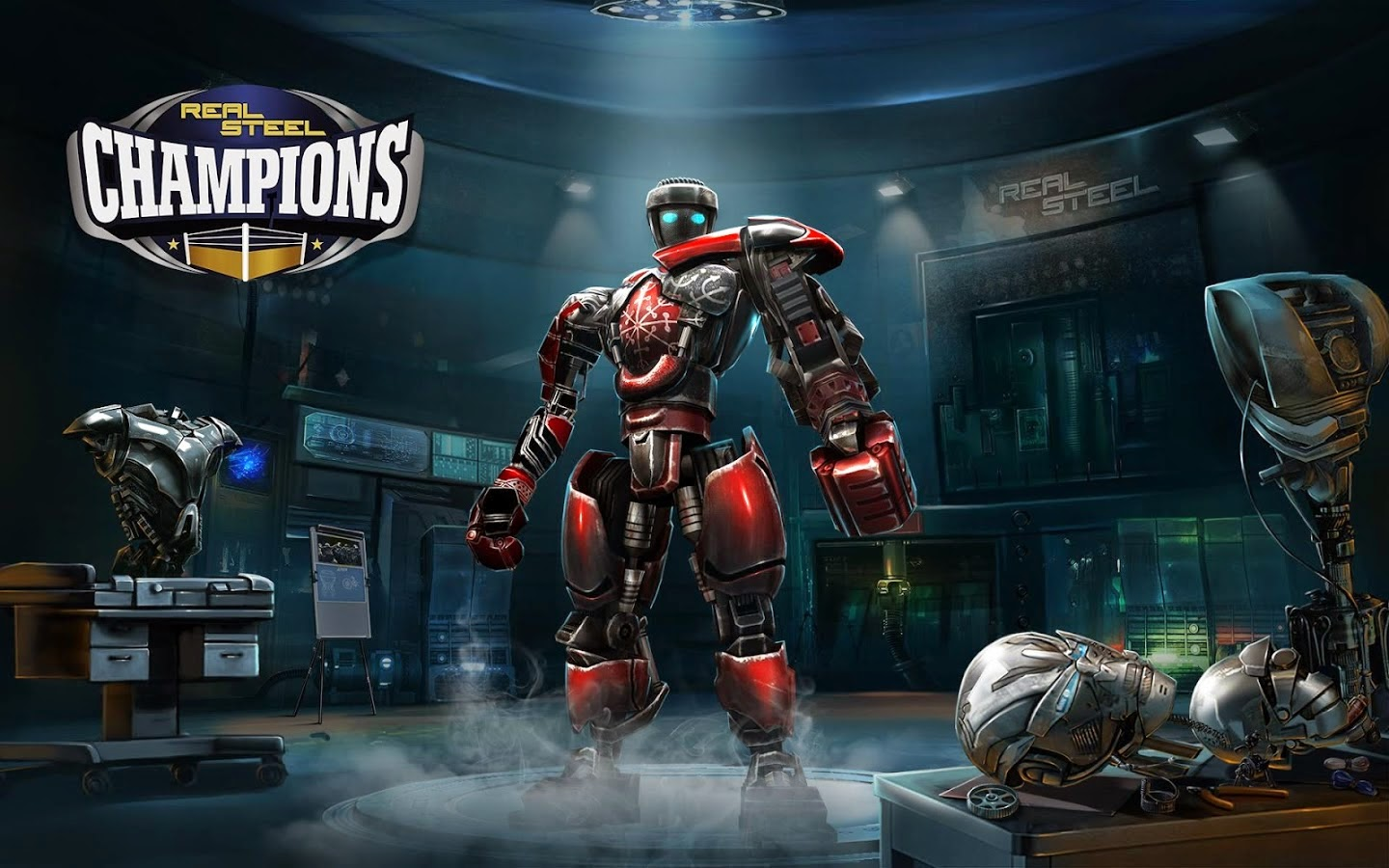 Download Mod Game Real Steel Champions Apk [Unlimited Money]