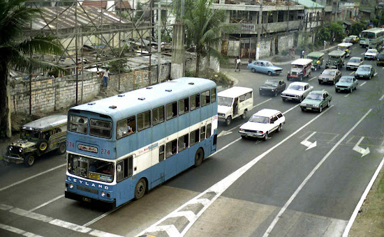 MMTC double-decker bus