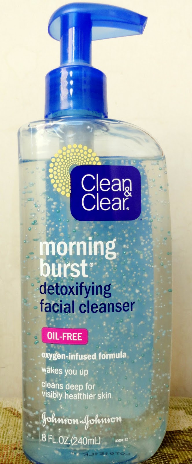 how to use clean and clear morning burst