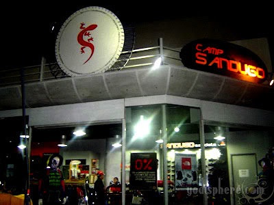 Sandugo Mountaineering shop at Market Market Fort Bonifacio