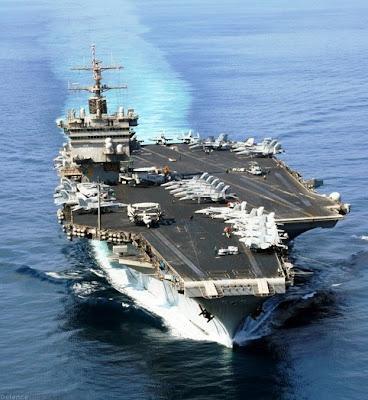 Navio americano estava pronto para retornar aos Estados Unidos, mas irá permanecer no mar Mediterrâneo para uma possível ação militar contra a Síria.