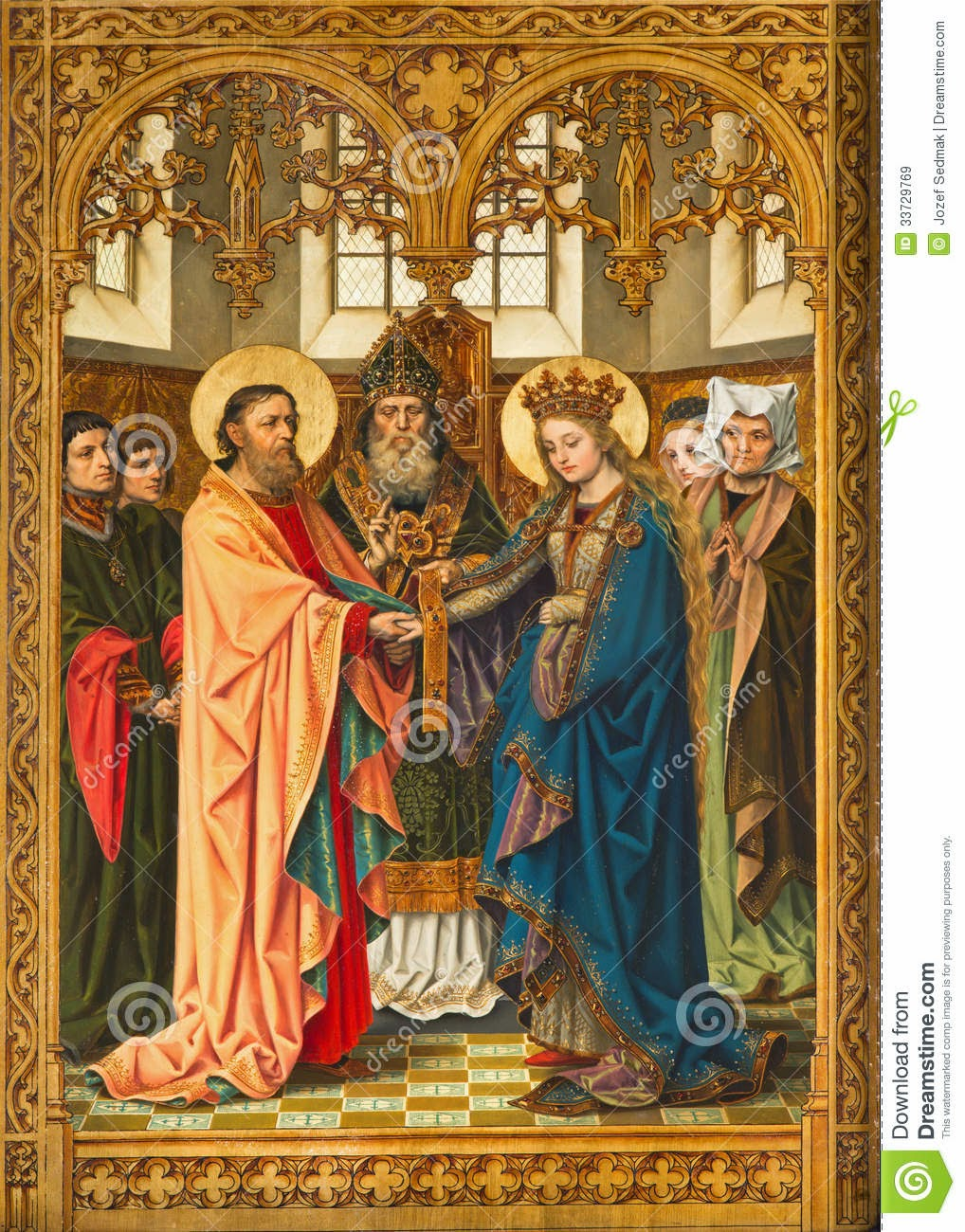 Catholic News World  Espousal of Mary and Joseph and Novena