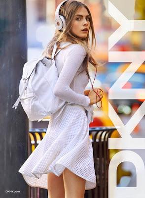 Cara Delevingne para DKNY primavera - verano 2013