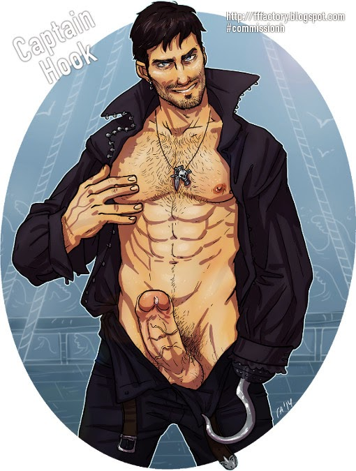 once upon a time adult fanart nsfw captian hook played by Colin O'Donoghue