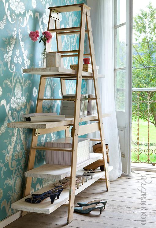 Un jersey de rayas escalera estanteria - Estanterias en escalera ...