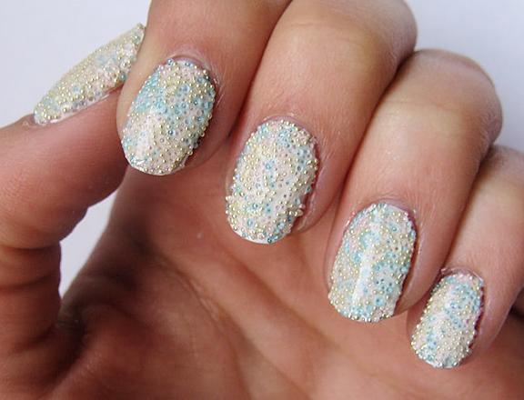 amazing nail art design prom