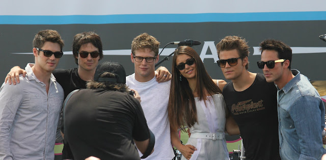 Vampire Diaries Cast Comic-Con