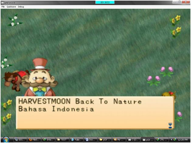 download harvest moon back to nature iso epsxe pc