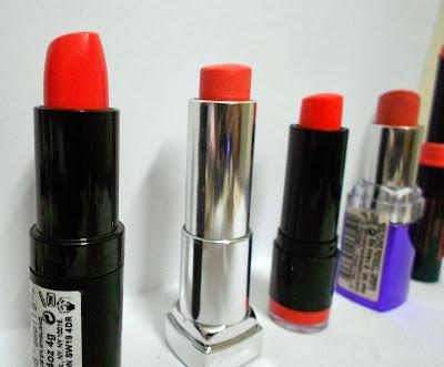 Favorite coral lipsticks