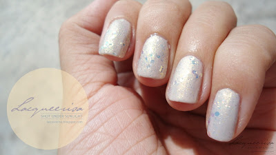 NOTD - The Quiet Enchanting Glitters