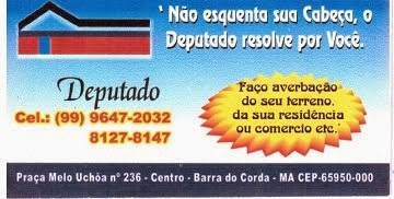 O DEPUTADO RESOLVE PRA VOCÊ!