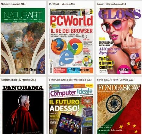 AvaxHome: Scaricare Libri, Quotidiani, Giornali, Fumetti Gratis